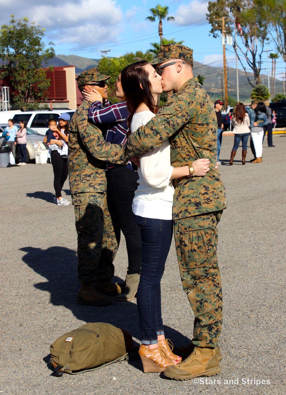 Marine battalion back at camp pendleton after 7month
