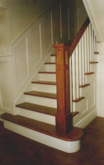 Good Questions Painting Wood Trim Where To Stop Stair