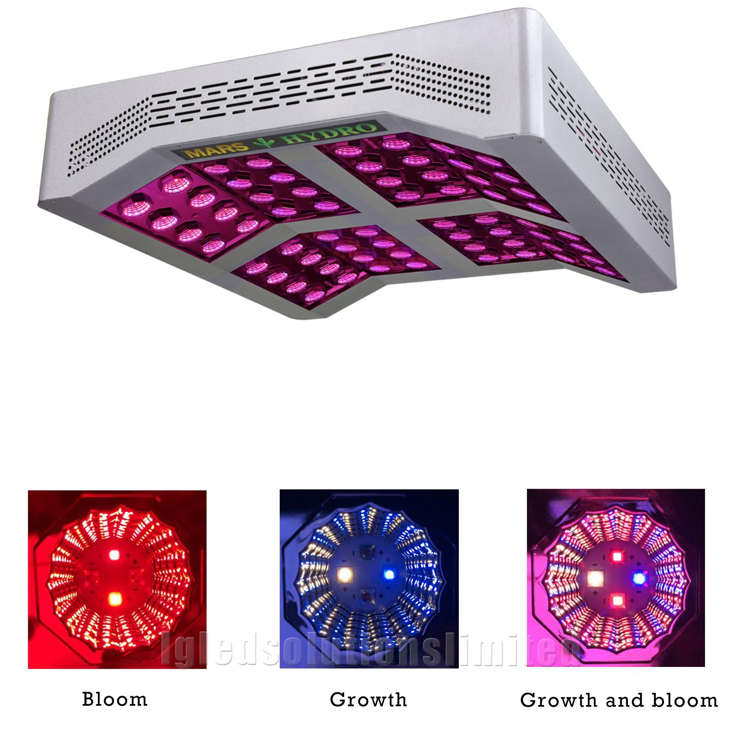 Mars Pro Ii Cree 256 Led Grow Light Hydroponics Best Veg Flower Home Indoor Garden Plant True 660w Wit Led Grow Lights Led Grow Lights Hydroponics Hydroponics