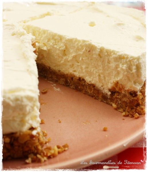 Gâteau au citron sans cuisson | Recette cheesecake ...