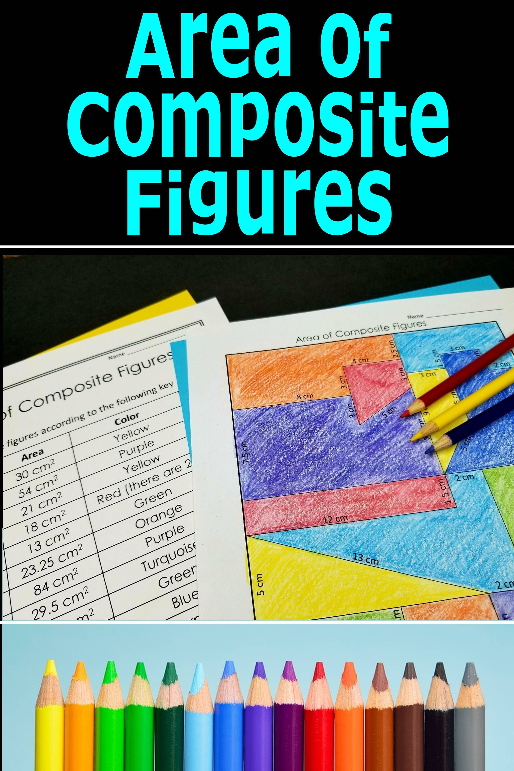 Area Of Composite Figures Activity
