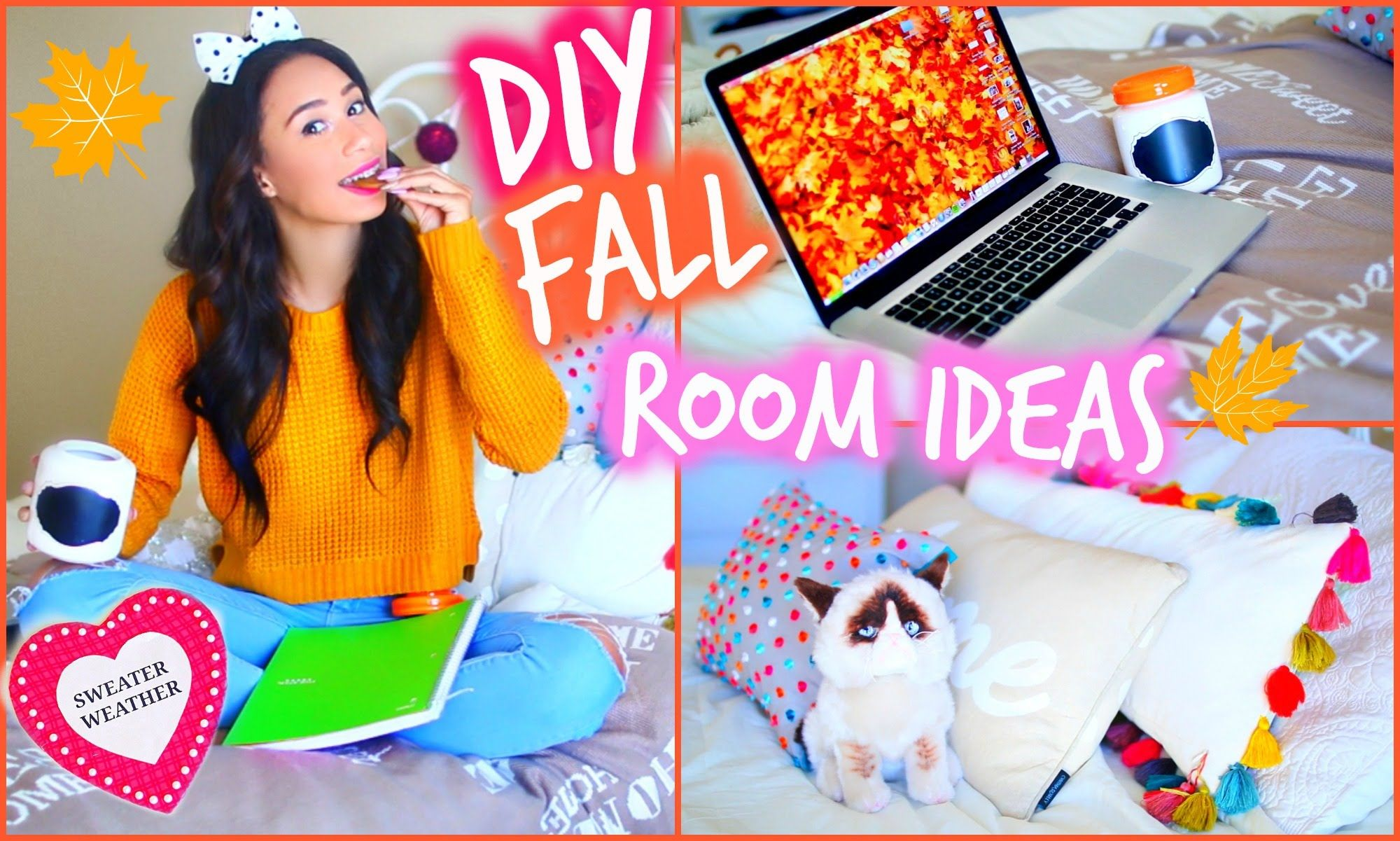 make your room cozy for fall diy room decorations for cheap mylifeaseva ava if you didn 39 t. Black Bedroom Furniture Sets. Home Design Ideas
