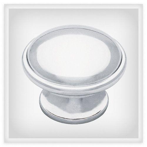 Luxury Round Chrome Cabinet Knobs
