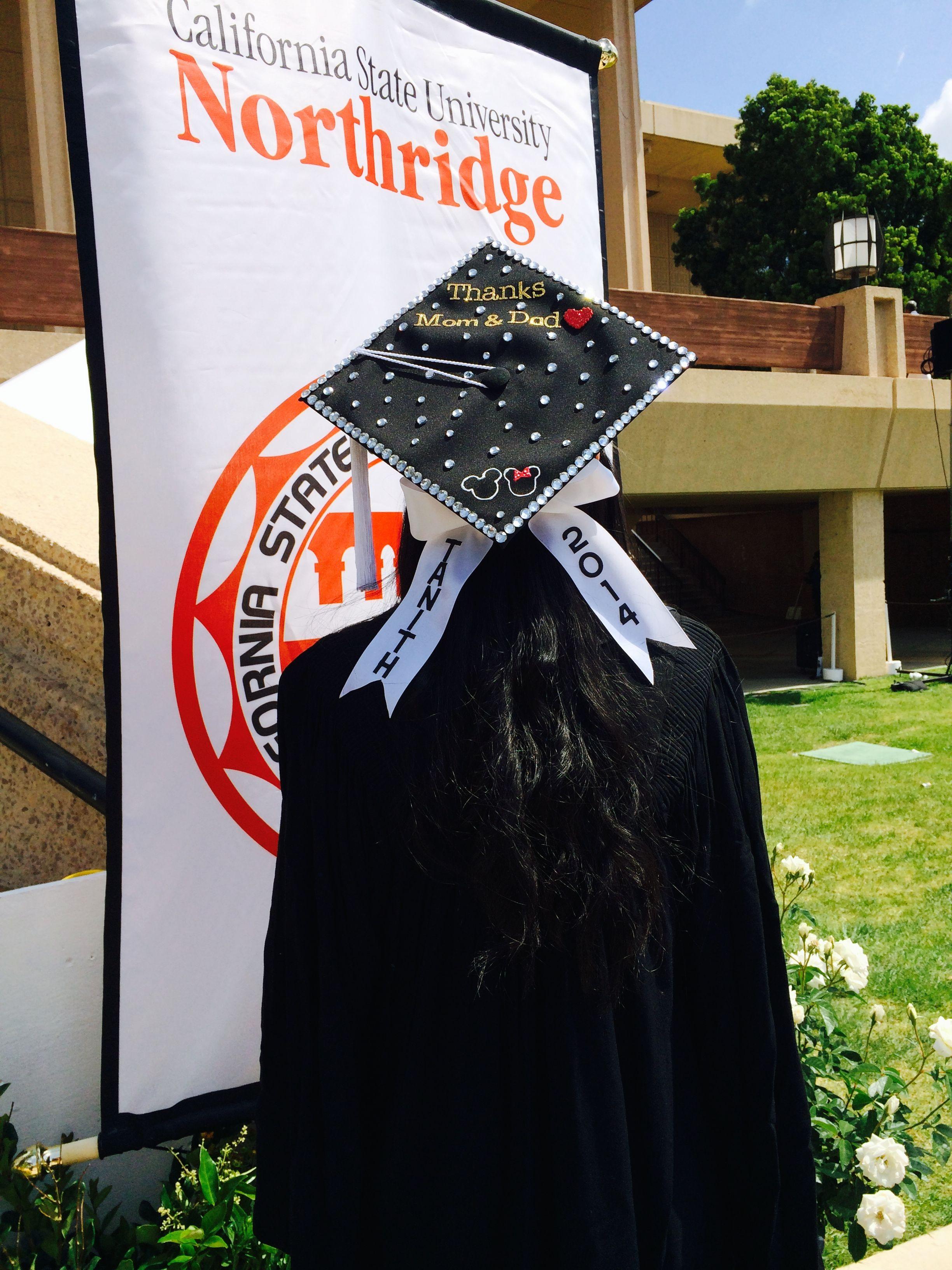 My Graduation Cap Got All Materials From Michaels Disney Bow
