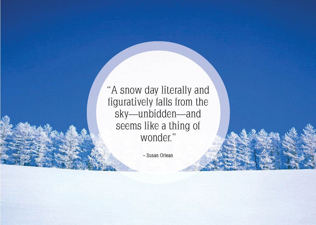25 Beautiful Quotes About Snow Snow decorations