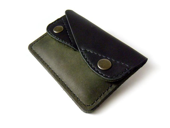 Handmade Leather Wallet  Mens leather wallet от LeatherPurses, $49.00