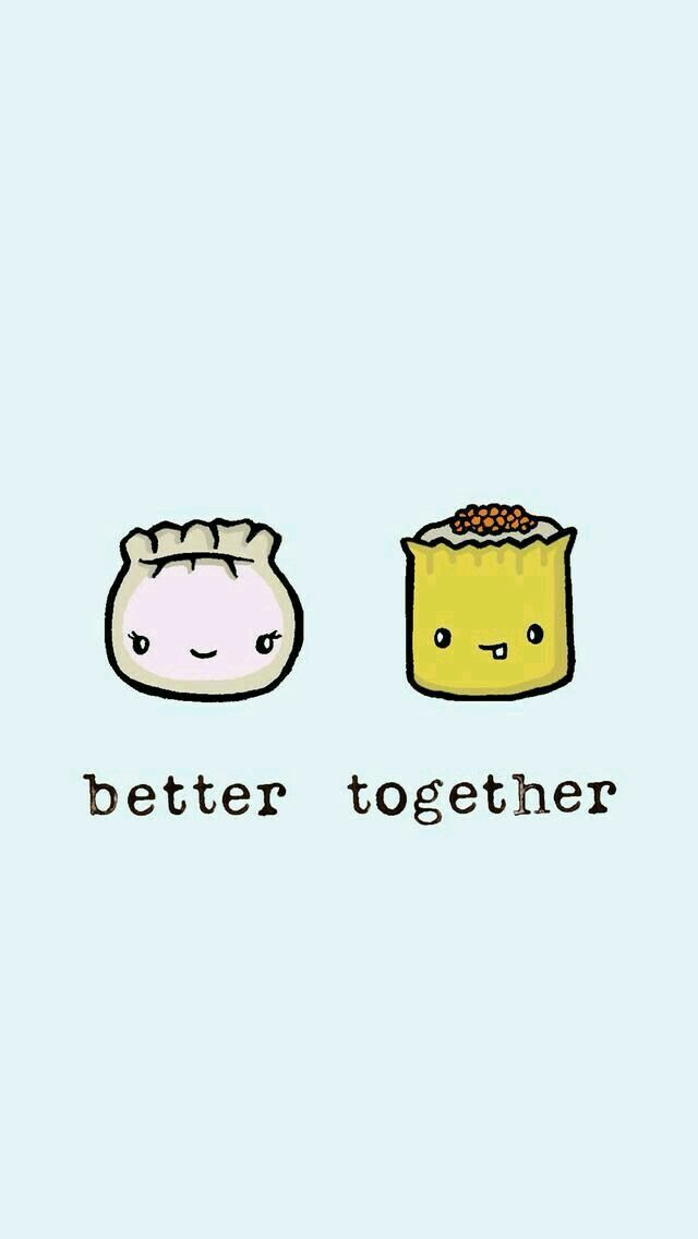 friends wallpaper food wallpaper iphone backgrounds wallpaper backgrounds iphone wallpapers food drawing drawing ideas better together