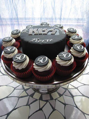 50th birtday cupcakes 50th Birthday Cakes Sample 60th birthday