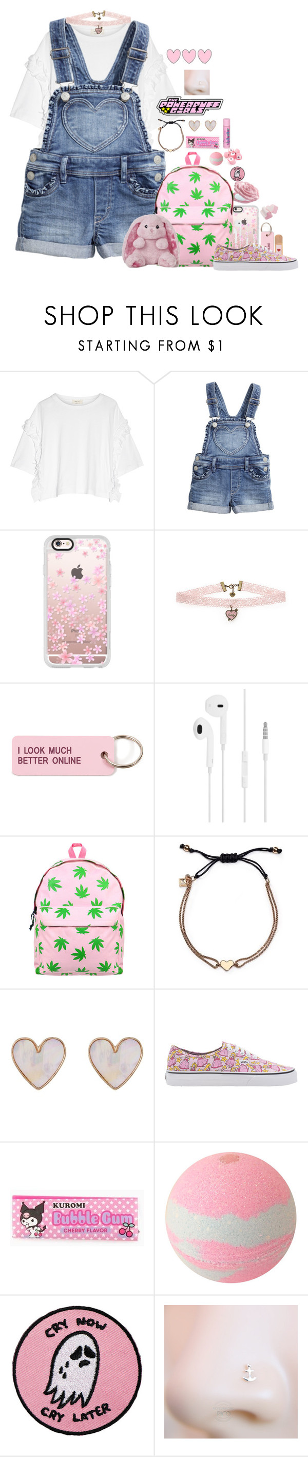 """""""Untitled #33"""" by xpenguinmeldoiesx ❤ liked on Polyvore featuring Steve J & Yoni P, Casetify, Various Projects, Retrò, Rebecca Minkoff, New Look, Vans and Cotton Candy"""