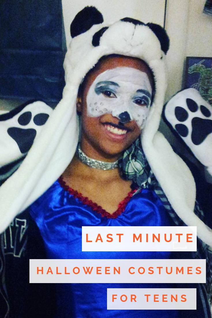 Last minute halloween costume ideas for teens teenhalloweencostumes