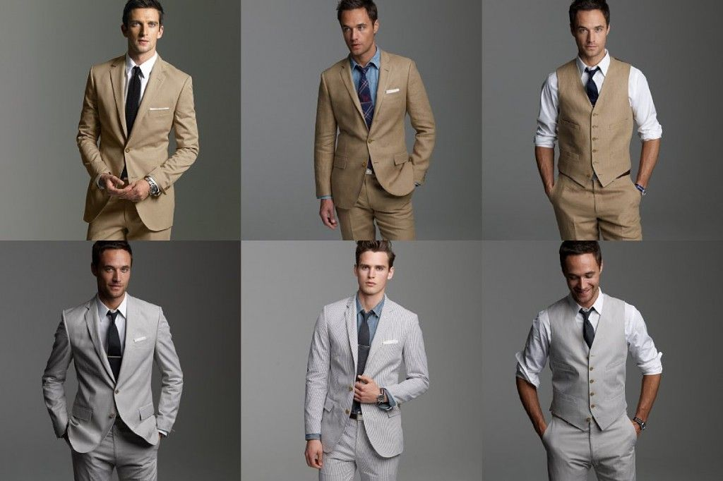I think grey would look great on T for the wedding! | Wedding ...