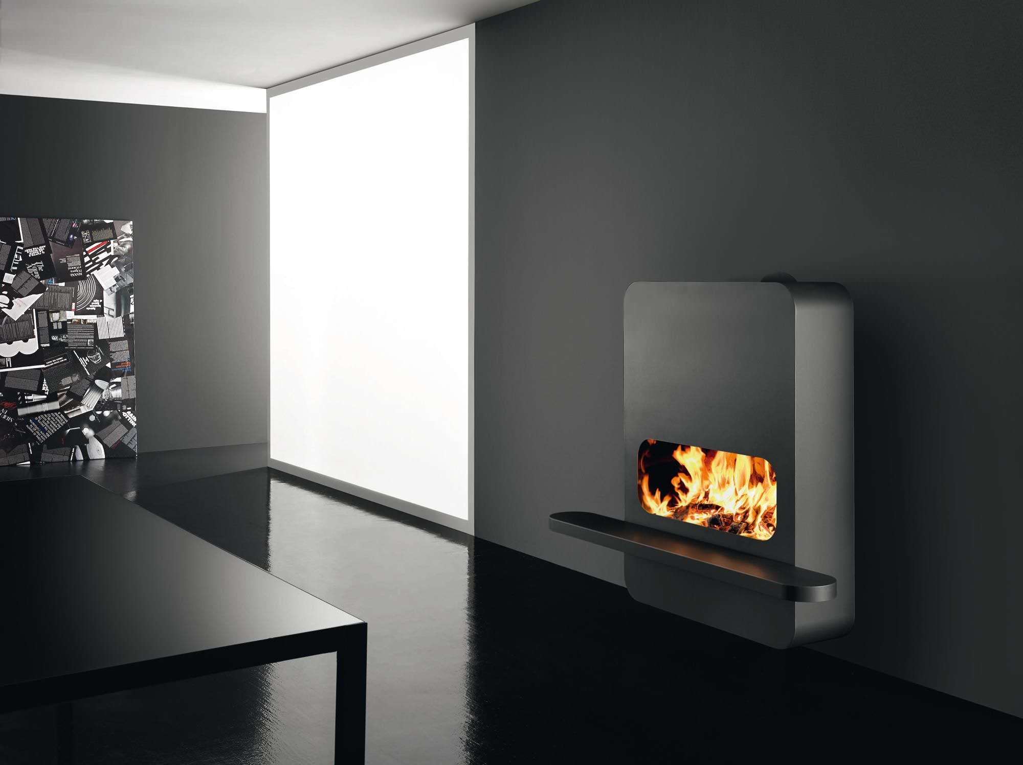 glass fireplace mantel scenario wood collection by mcz group fire