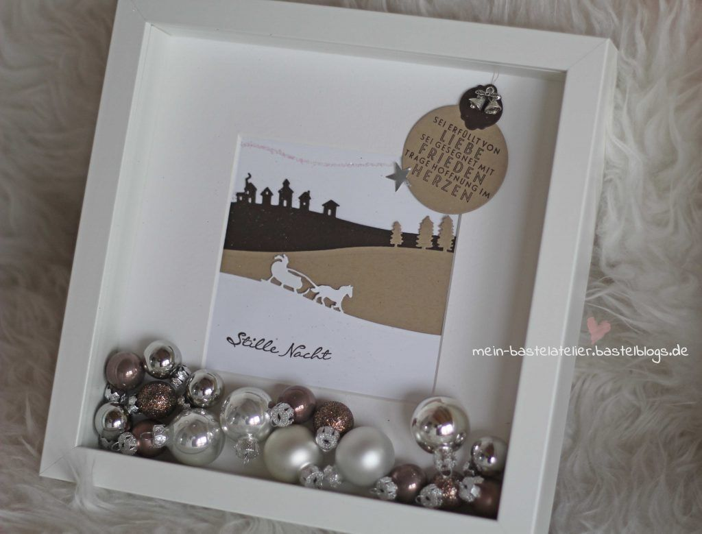 weihnachten dekoration ribba rahmen mini weihnachtskugeln. Black Bedroom Furniture Sets. Home Design Ideas