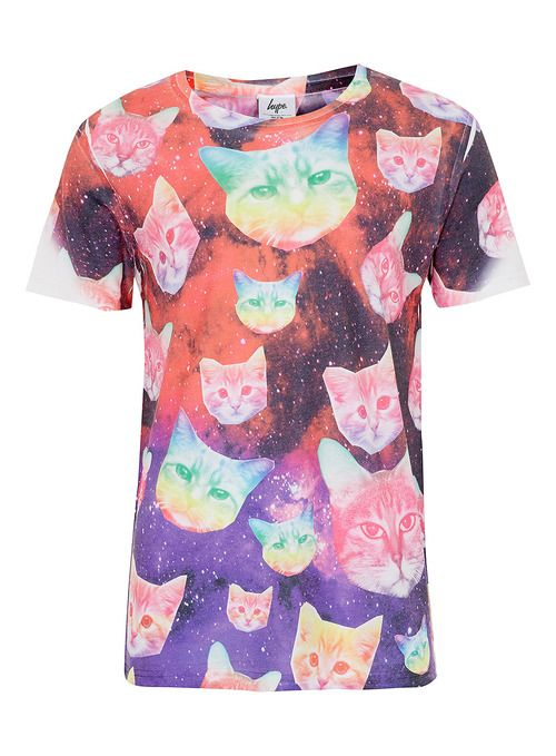 Topman Hype Cosmo Cat T-shirt