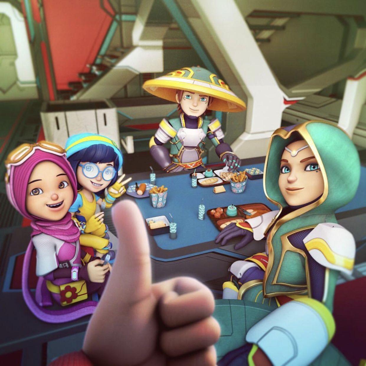 Terbaiklah!!!! di 2020 Animasi, Ilustrasi karakter, Kartun