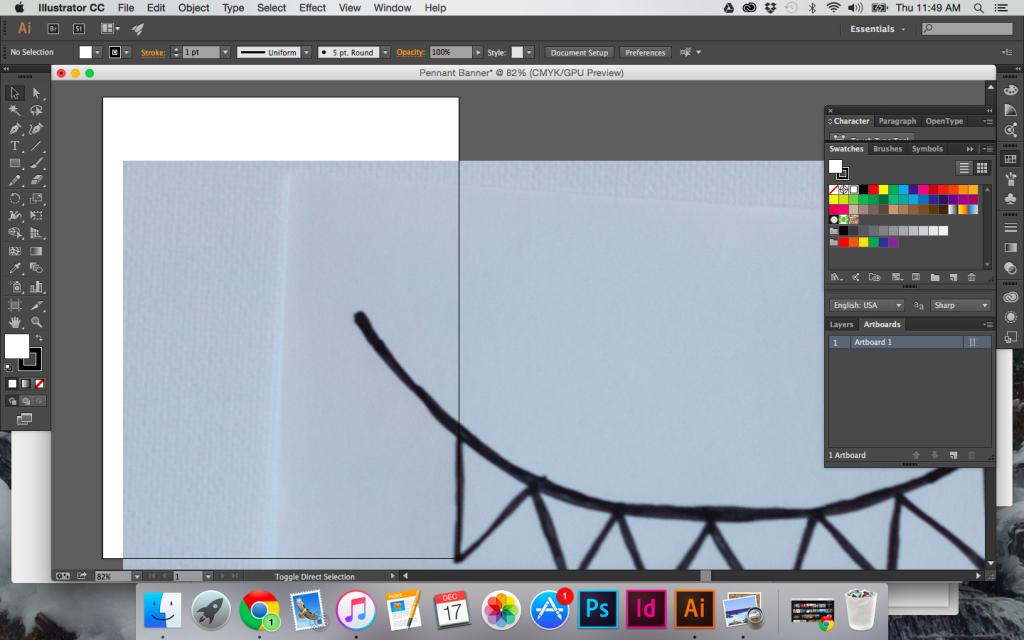 How To Turn A Sketch Into Digital Art Illustrator Tutorials Digital Art Sketches