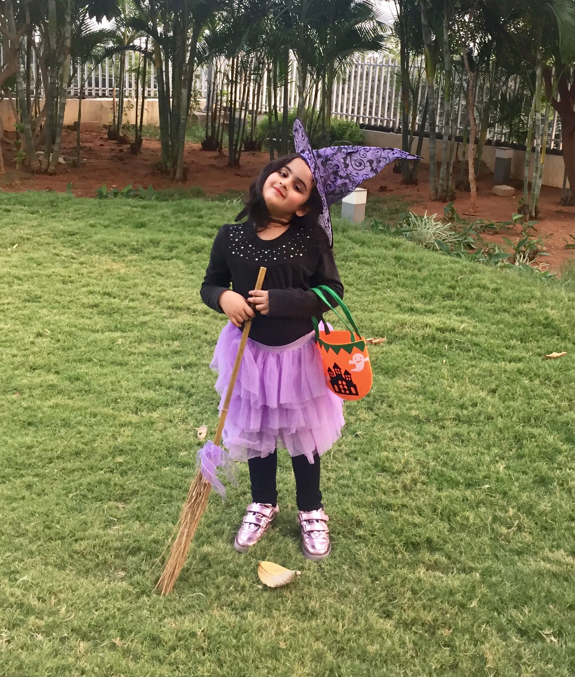 Halloween Tutu witch costume for kids | Kids fashion | Pinterest