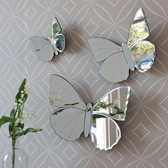 Love These Vintage Mirror Erflies