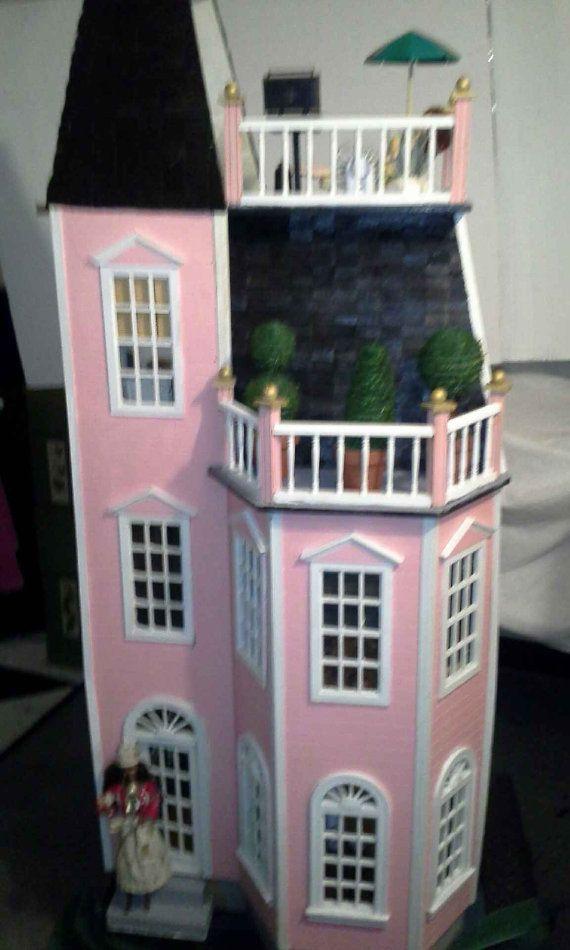 items similar to 11 1 2 inch doll handmade house on etsy food labelsdoll housesdollhouses