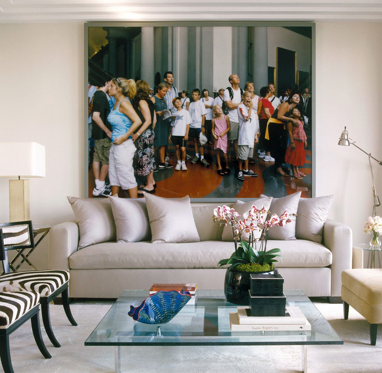 Foley Penthouse New York Ny Ikea Living Room Condo Decorating Design [ 1436 x 1468 Pixel ]