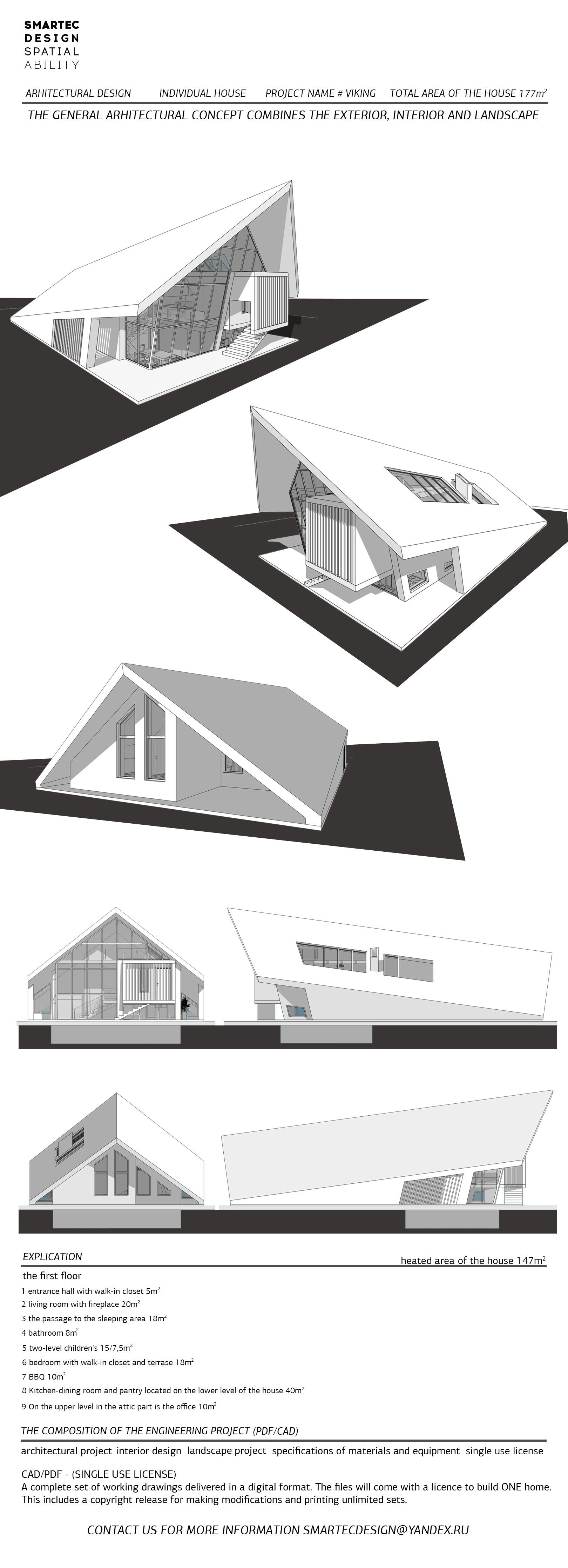 Architectural design concepts,,Viking,the general architectural ...