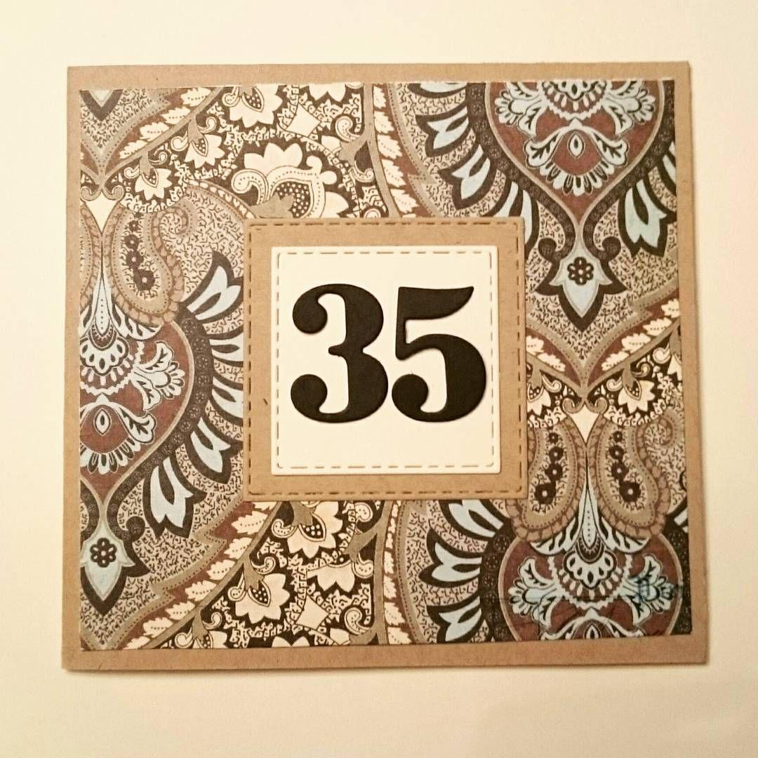 """4 likerklikk, 1 kommentarer – Carina 😁 (@kreativecrrina1) på Instagram: """"Hipp hipp hurra 🎈 #bursdagskort #bursdag #jubileum #birthday #birthdaycard #happybirthday"""""""