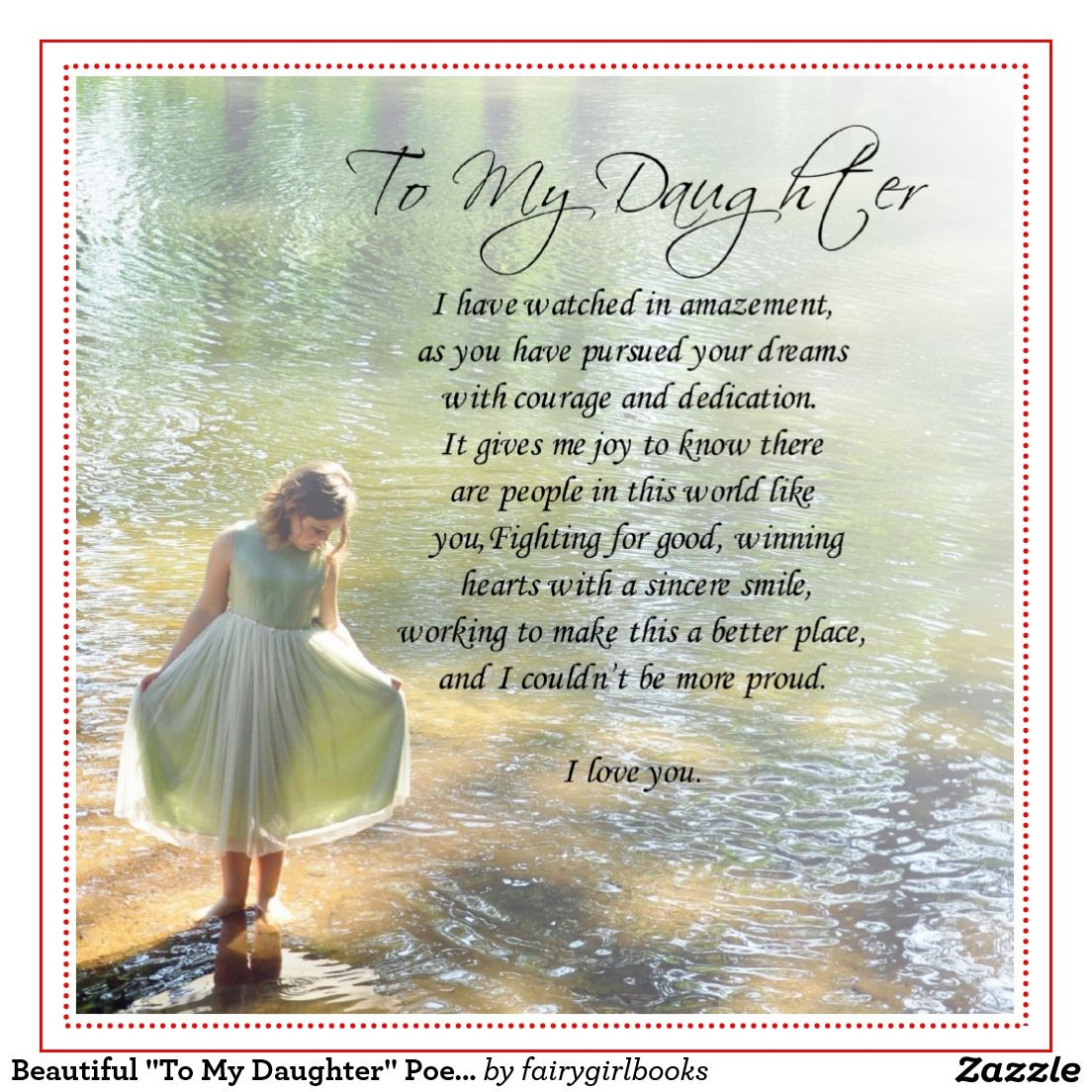 Poem For My Daughter Google Search Daughters Pinterest