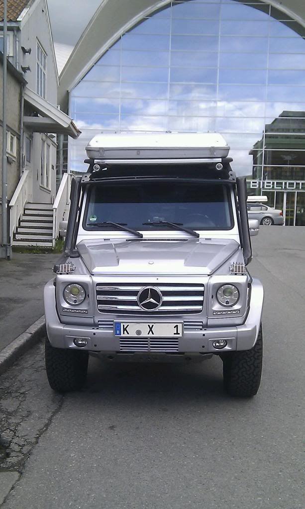 Камперы и Экспедиционники - Конференция Mercedes-Benz G-Class Gelaendewagen…