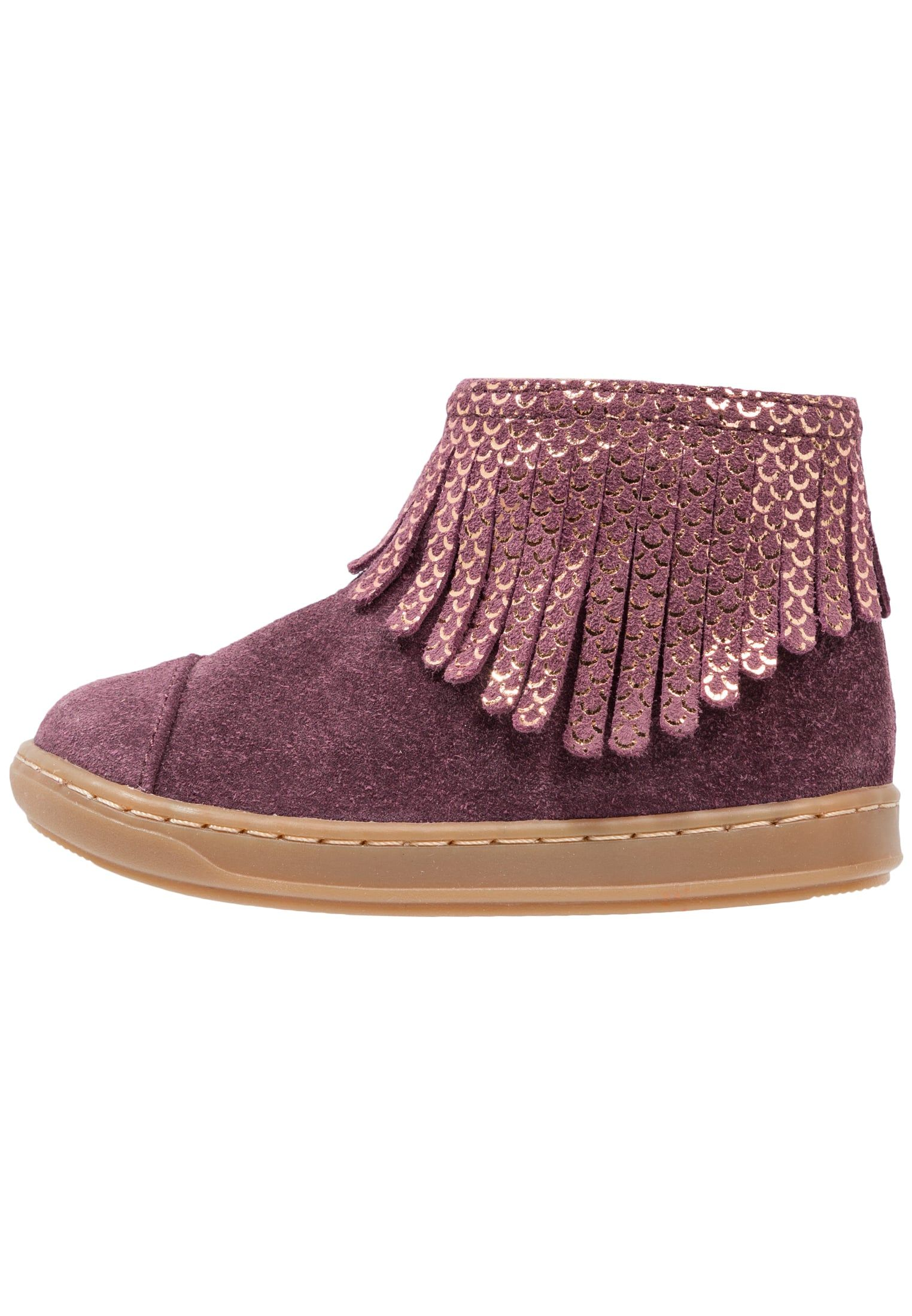 BOUBA FRINGE - Chaussures premiers pas - berry   Berry and Father 1869fae7cfa