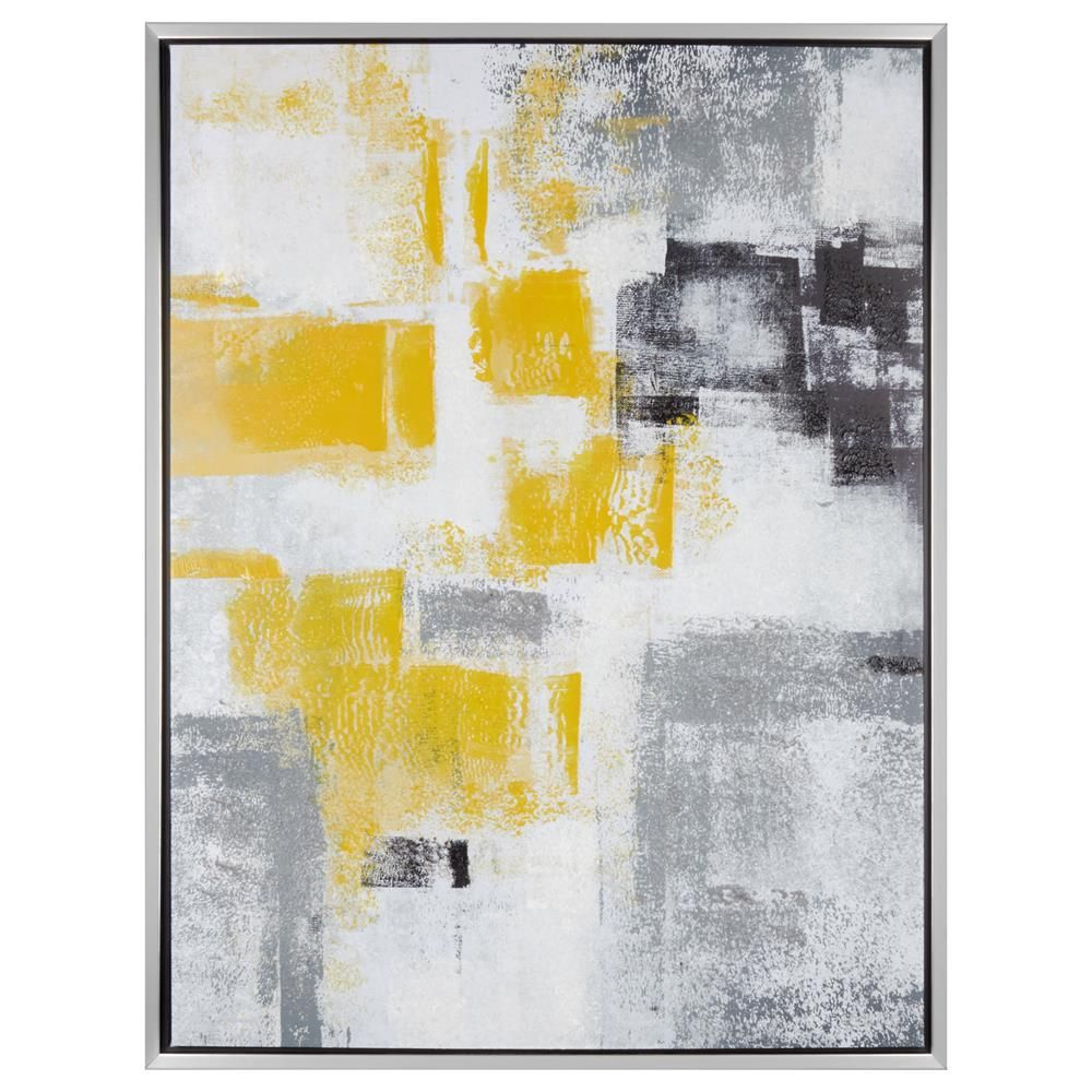 Abstract Embellished Framed Art | Bouclair.com | Wall Art ...