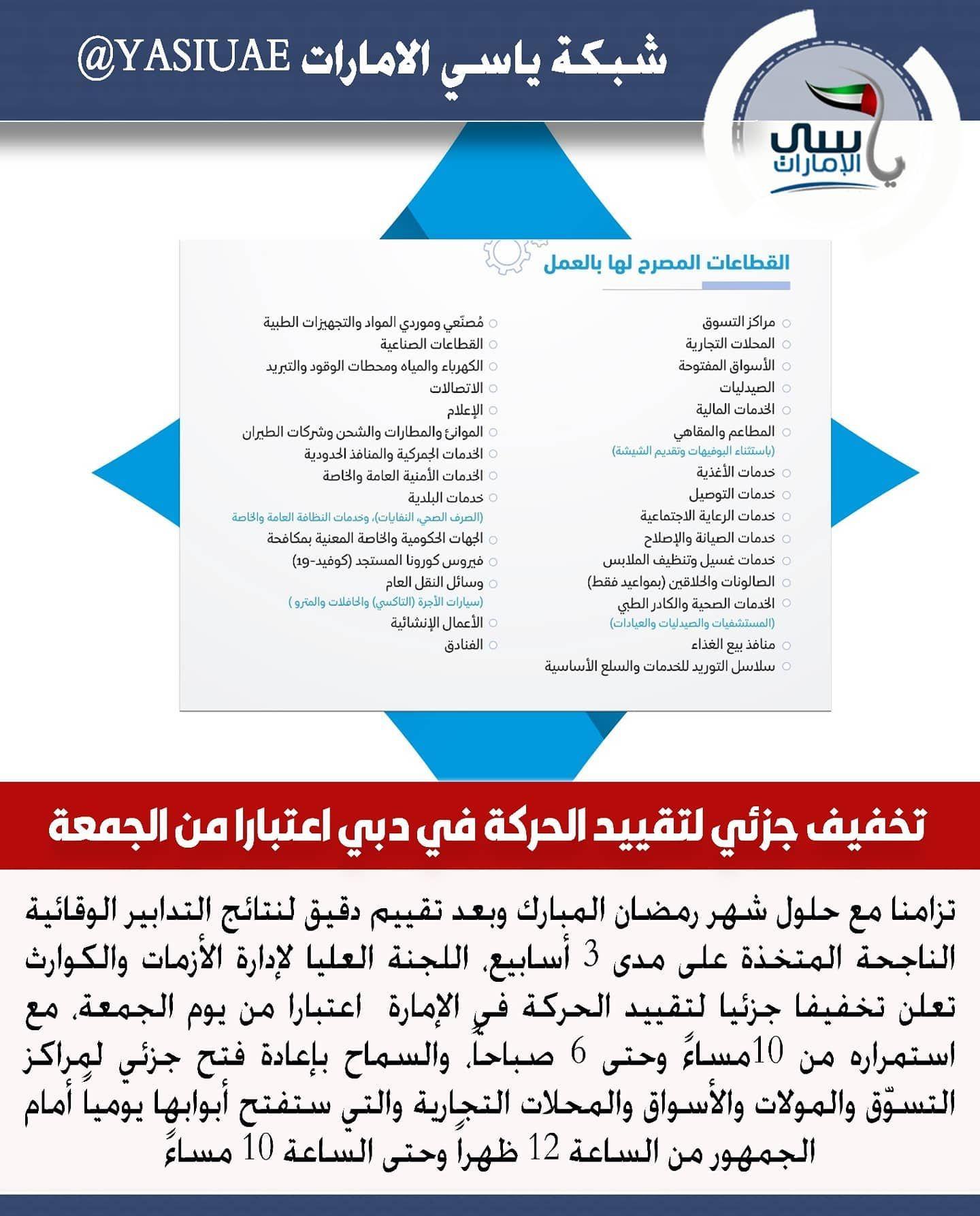 تزامنا مع حلول شهر رمضان المبارك وبعد تقييم دقيق لنتائج التدابير الوقائية الناجحة المتخذة على مدى 3 أسابيع اللجنة العليا لإدارة الأزمات والك Map Map Screenshot