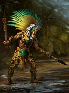 Jaguar Knights The New World Obsidian Portal Aztec Warrior Aztec Art Mayan Art