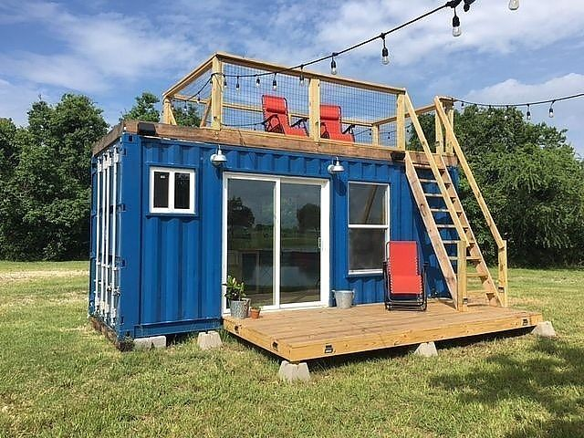 20 Rustic Retreat Shipping Container Tiny House For Sale In