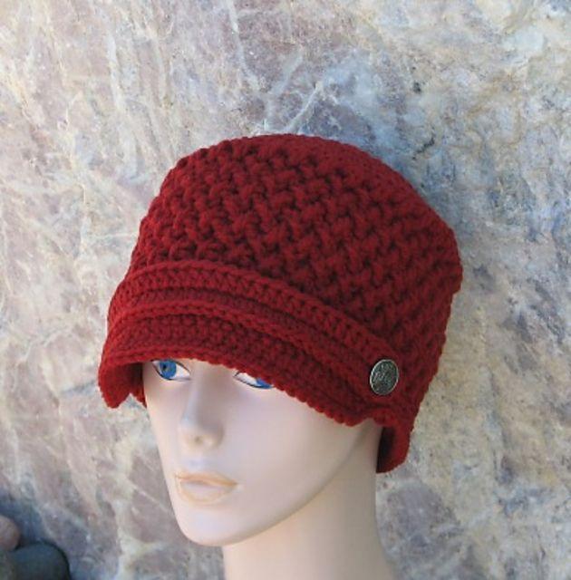 Ravelry: Criss Cross Newsboy Hat by Ana Benson   Crocheting   Pinterest
