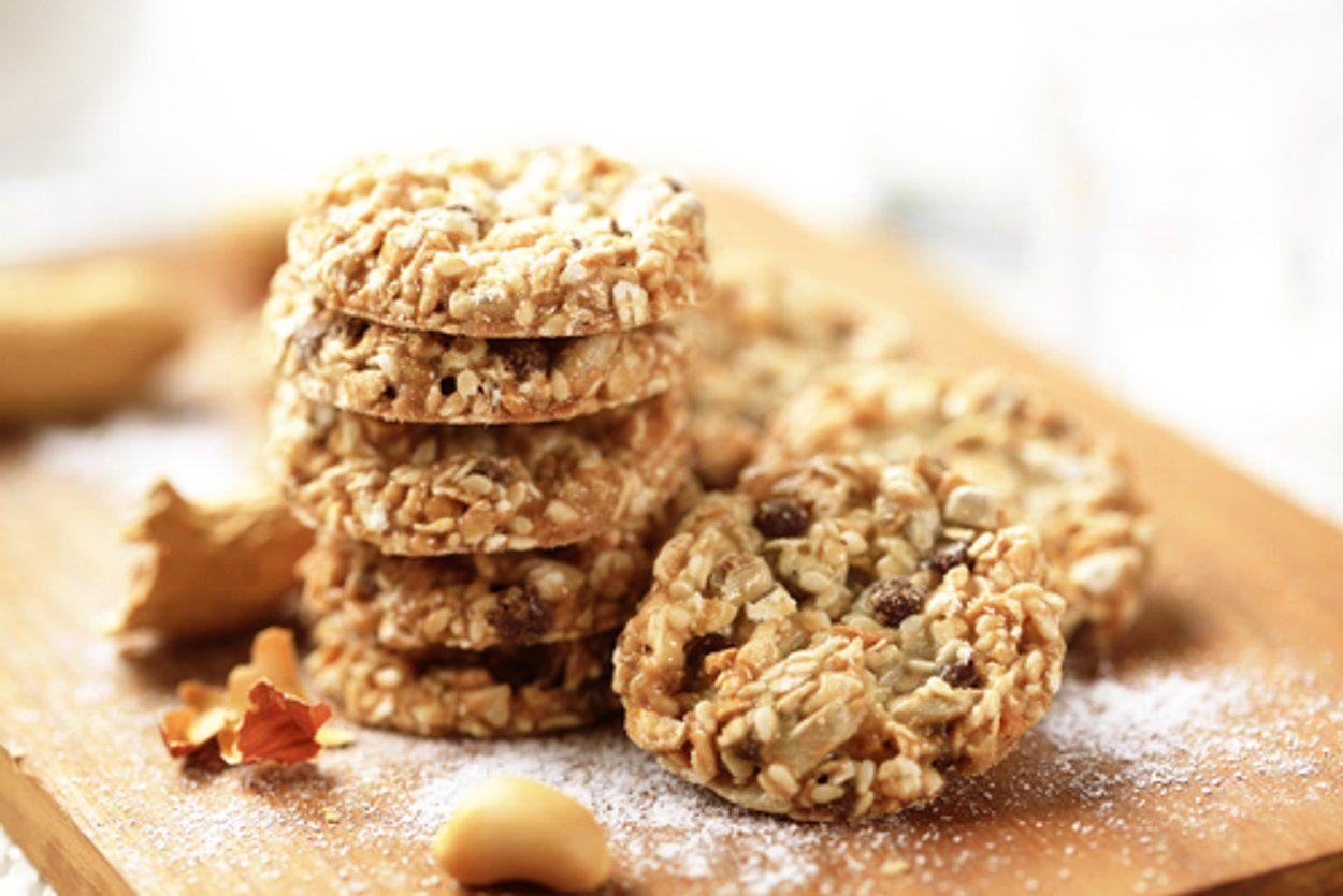Galletas supernutritivas a base de coco, avena y semillas | Galletas de avena suaves, Receta fácil de galletas, Galletas de linaza