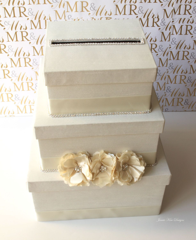 Wedding Card Box Money Holder Custom Made To By Jamiekimdesigns