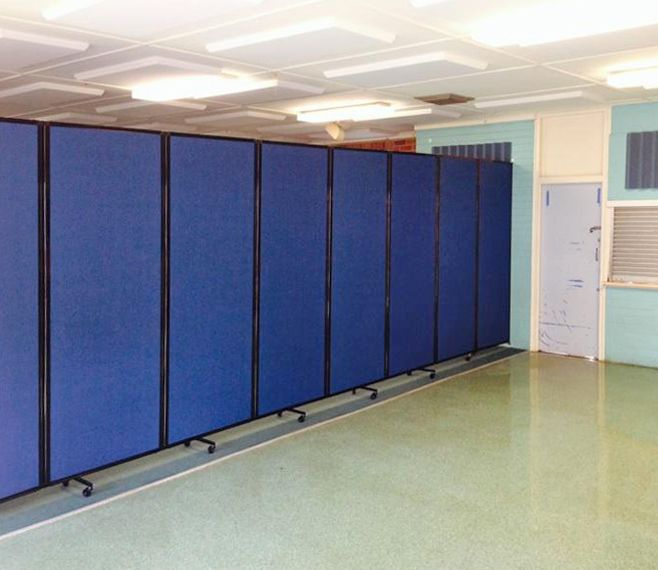 How To Divide An Open Plan Space 9 Ideas: Dividing Space Comes Easy With The Room Divider 360. Create Instant Classrooms & Study Sections