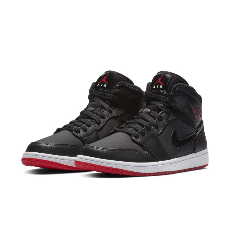 285070fcf66 Air Jordan 1 Mid Premium Men s Shoe - Black