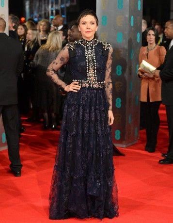 Maggie en Lanvin aux BAFTAs 2014 !