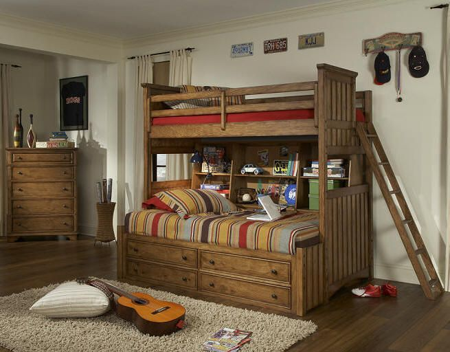 Twin over full bunk bed project Pinterest Twins Bunk bed and