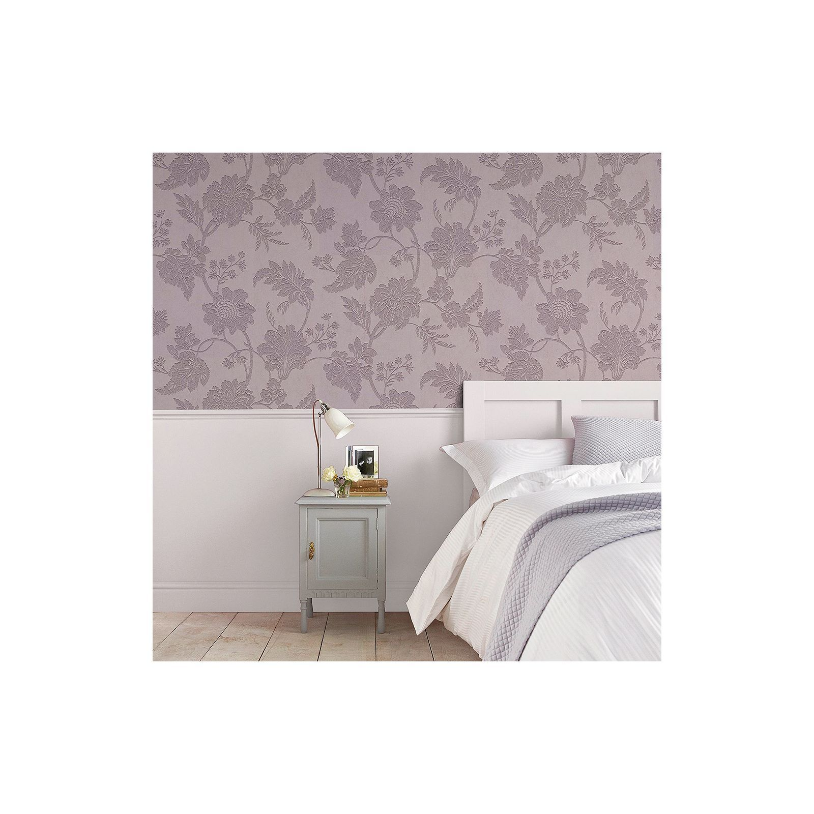 Graham & Brown Artisan Paste the Wall Mystique Mulberry Wallpaper at