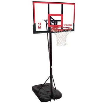 Spalding 72354 Portable Basketball Hoop With 48 Backboard Portable Basketball Hoop Basketball Hoop Basketball Systems