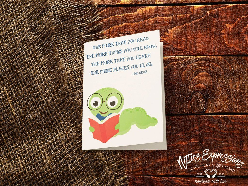 Bookworm A7 Birthday Card Stylus And Products