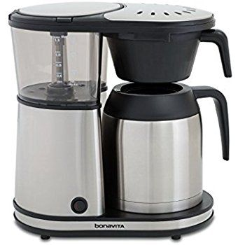 Bonavita BV1901TS 8 Cup Carafe Coffee Brewer Stainless Steel