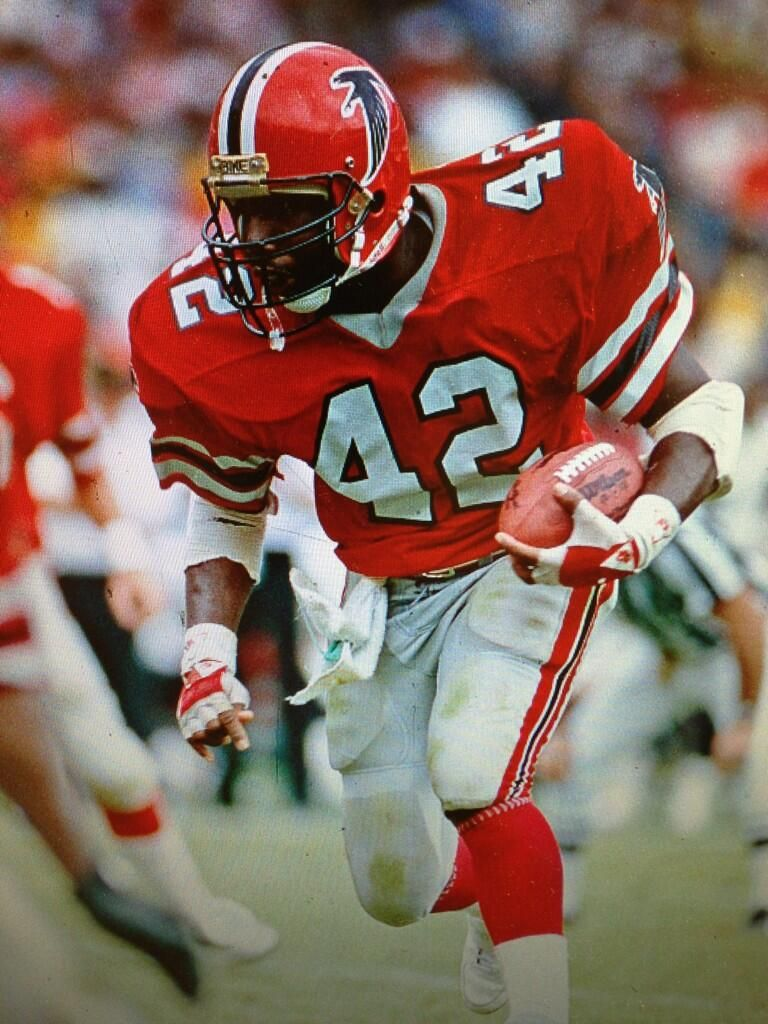 Gerald Riggs Atlanta Falcons All Time Leading Rusher Falcons Football Nfl Football Players Nfl Detroit Lions