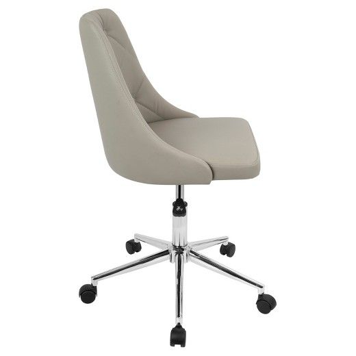 Modern The LumiSource Marche fice Chair is the perfect update for any home office Trending - Best of office chair with wheels New Design