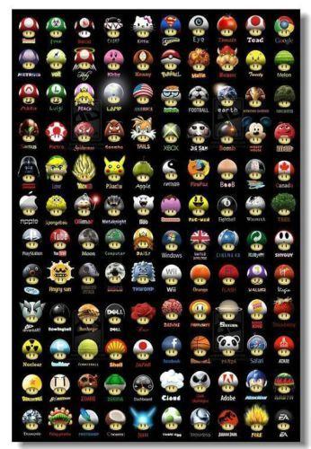 Super-Mario-Bros-Art-Silk-36X24-inch-Game-Poster-7