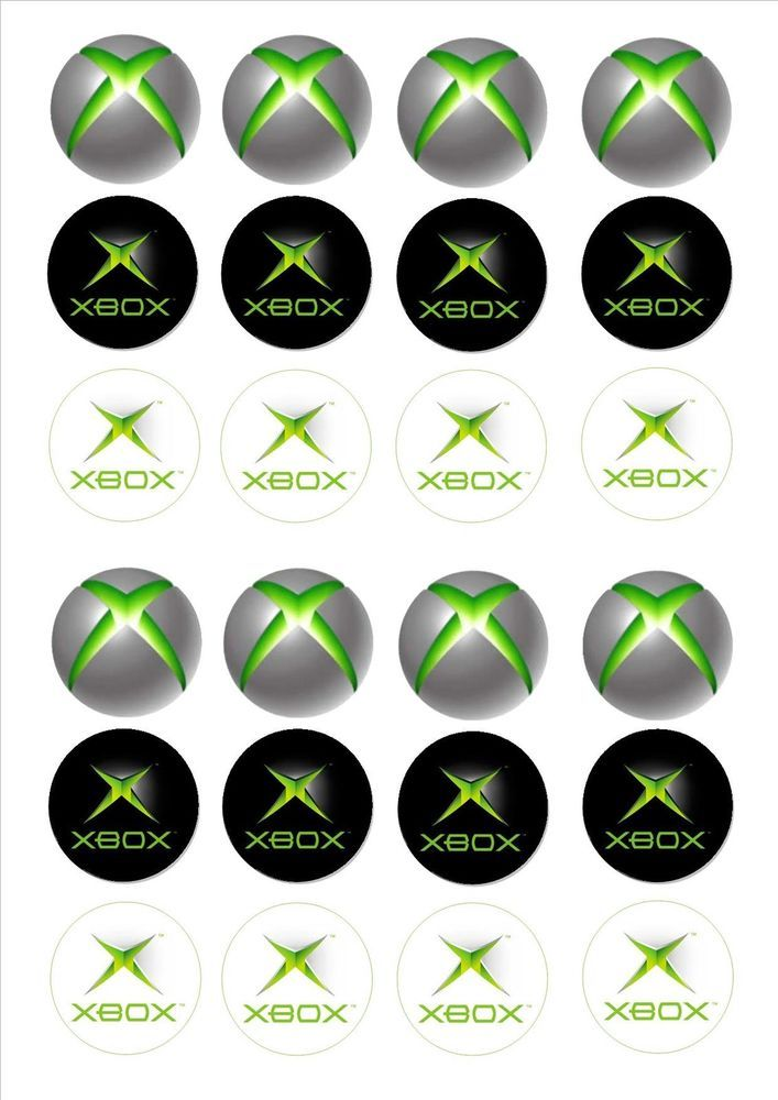 Xbox party favor google search birthday pinterest for Decoration xbox one