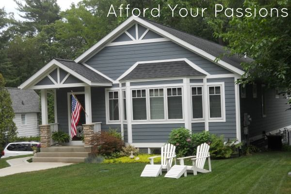 cute cottage in long beach indiana tiny home living pinterest