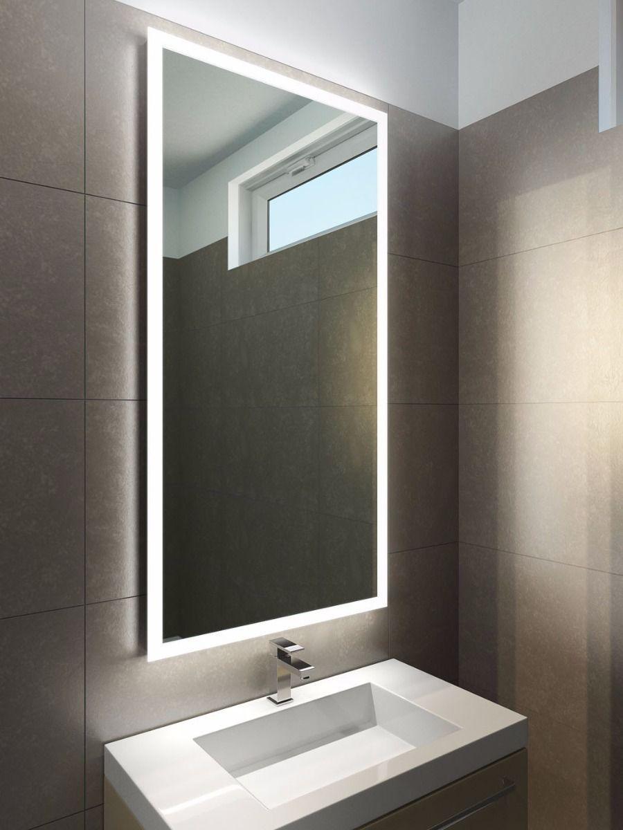 P H 1300 X W 650 X D 45mmhalo Range 1419v P Bathroom Mirror Lighted Bathroom Mirror Bathroom
